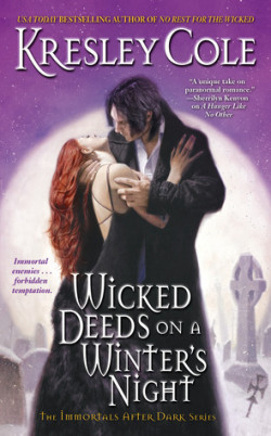 Review: Wicked Deeds on a Winter's Night by Kresley Cole