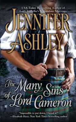 Review: The Many Sins of Lord Cameron by Jennifer Ashley