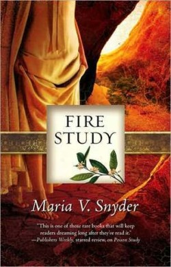 Review: Fire Study by Maria V Snyder