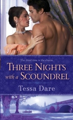 Review: Three Nights with a Scoundrel by Tessa Dare