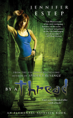 ARC Review: By a Thread by Jennifer Estep