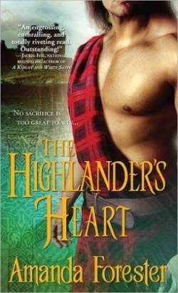 Review: The Highlander's Heart by Amanda Forester