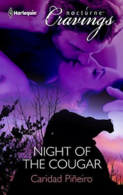 Review: Night fo the Cougar by Caridad Piñeiro