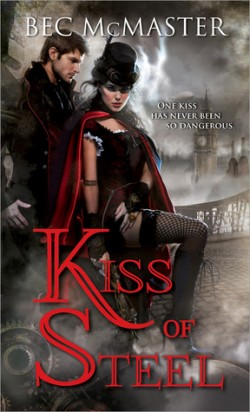 Review: Kiss of Steel by Bec McMaster