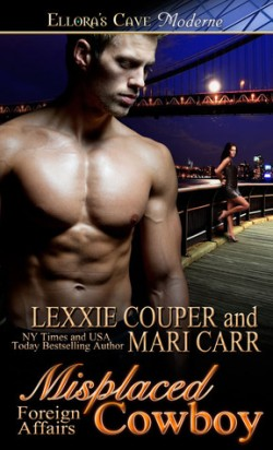 Review: Misplaced Cowboy by Lexxie Couper and Mari Carr
