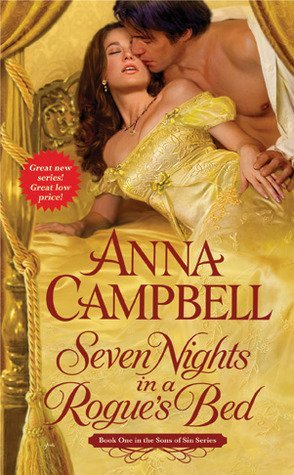 ARC Review: Seven Nights in a Rogue's Bed by Anna Campbell