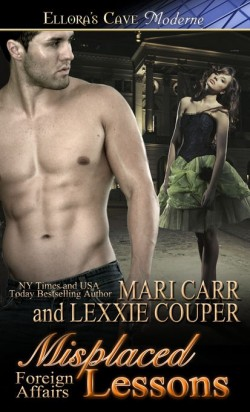 ARC Review: Misplaced Lessons by Mari Carr and Lexxie Couper