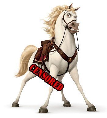 horse-censored
