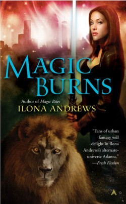 Review: Magic Burns by Ilona Andrews