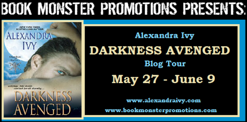 DARKNESS AVENGED Tour Button
