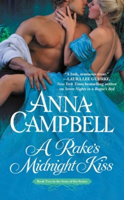 ARC Review: A Rake's Midnight Kiss by Anna Campbell