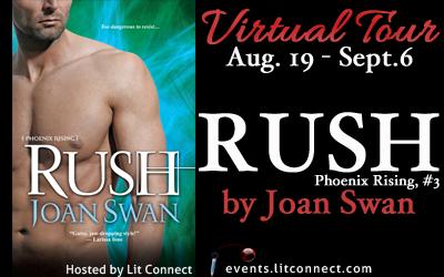 Tour Badge-Rush by Joan Swan