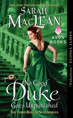 ARC Review: No Good Duke Goes Unpunished by Sarah MacLean