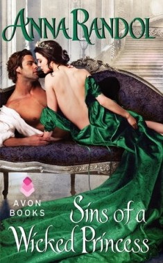 Review: Sins of a Wicked Princess by Anna Randol