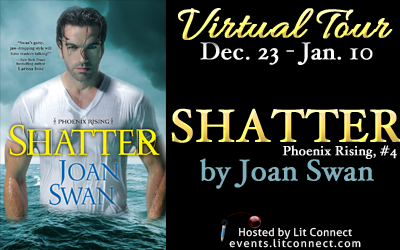 Tour Badge-Shatter by Joan Swan