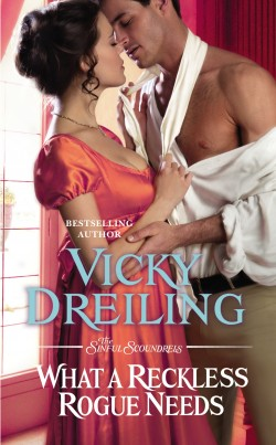 ARC Review: What a Reckless Rogue Needs by Vicky Dreiling