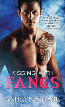 ARC Review: Kissing with Fangs by Ashlyn Chase