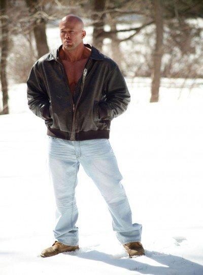 Tattooed Male Model John Quinlan in Calvin Klein 1