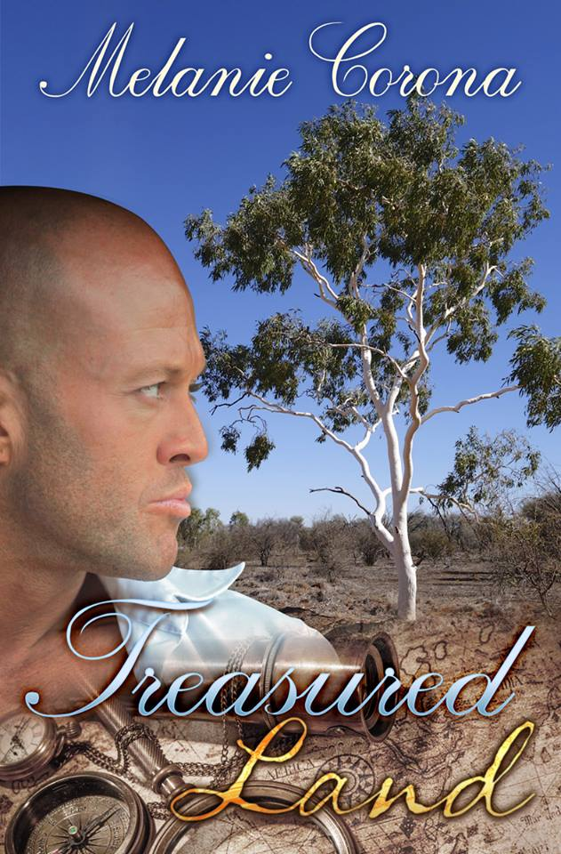 Tattooed Romance Cover Model John Quinlan Treasured Land by Melanie Corona