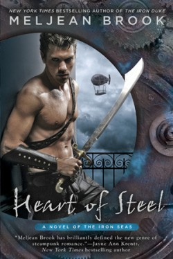 Review: Heart of Steel by Meljean Brook