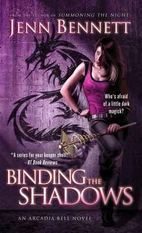 Arc Review Banishing The Dark By Jenn Bennett Under The border=