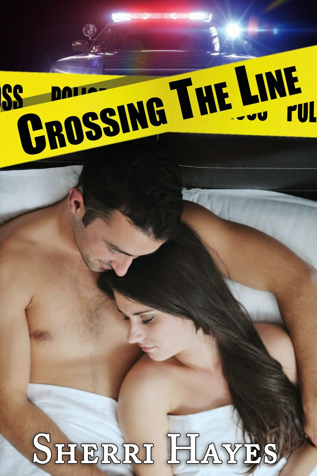 CROSSING THE LINE by Sherri Hayes Cover Reveal