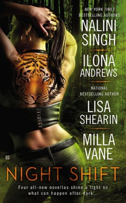 ARC Review: Night Shift by Nalini Singh, Ilona Andrews, Lisa Shearin & Milla Vane