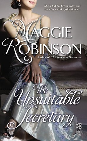 THE UNSUITABLE SECRETARY by Maggie Robinson [HISTORICAL]
