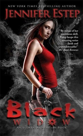 BLACK WIDOW by Jennifer Estep [URBAN FANTASY]