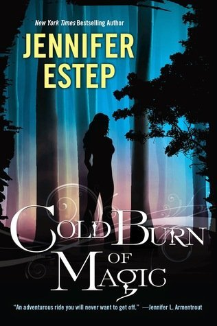 COLD BURN OF MAGIC by Jennifer Estep [YOUNG ADULT]