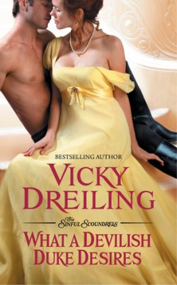 ARC Review: What a Devilish Duke Desires by Vicky Dreiling