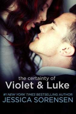 ARC Review + Giveaway: The Certainty of Violet and Luke by Jessica Sorensen