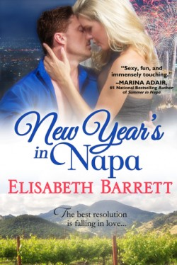 ARC Review: New Year's in Napa by Elisabeth Barrett
