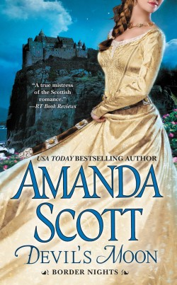 DEVIL'S MOON by Amanda Scott [HISTORICAL]