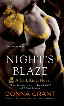 ARC Review: Night's Blaze by Donna Grant