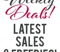 Weekly Deals: Latest Sales and Freebies April 30, 2015