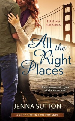 ARC Review: All the Right Places by Jenna Sutton