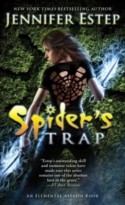 ARC Review: Spider's Trap by Jennifer Estep