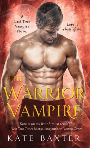 ARC Review: The Warrior Vampire by Kate Baxter
