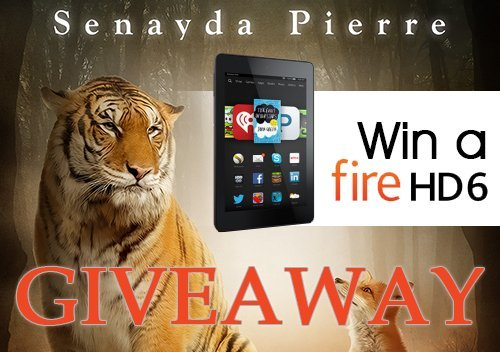 Kindle Fire HD 6 Giveaway - Senayda Pierre