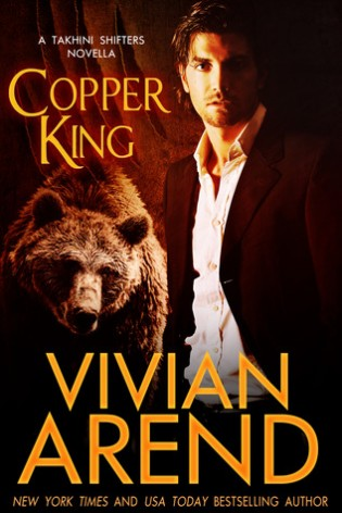 Review + Giveaway: Copper King by Vivian Arend