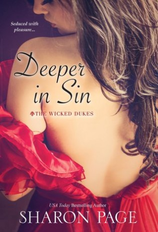 Deeper in Sin by Sharon Page