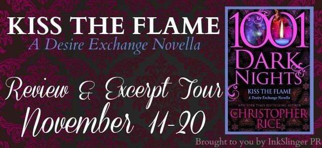 Kiss the Flame - Review & Excerpt Tour Banner