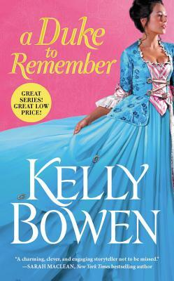ARC Review: A Duke to Remember by Kelly Bowen
