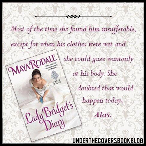 Lady Bridget's Diary Quote