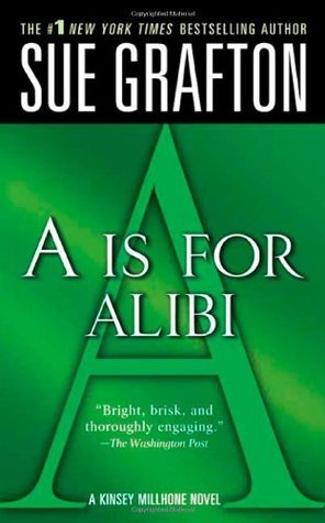 #Rollbackweek Review: A if for Alibi by Sue Grafton