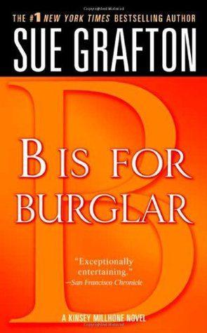 #Rollbackweek Review: B is for Burglar by Sue Grafton