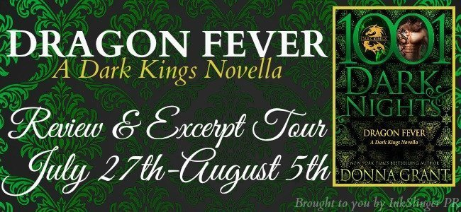 Dragon Fever - Tour banner