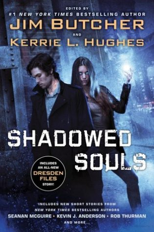 ARC Review: Shadowed Souls Anthology by Jim Butcher, Seanan McGuire, Rub Thurman et al.