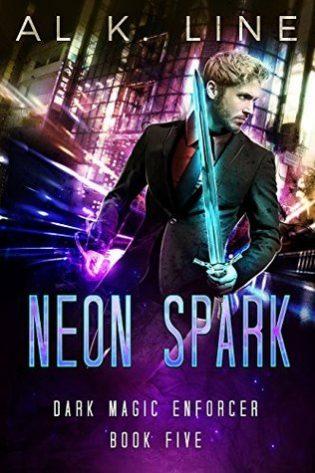 Neon Spark by Al K. Line